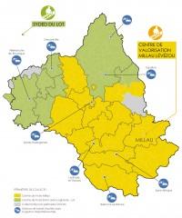 Carte des collectes sélectives et des stations de transit