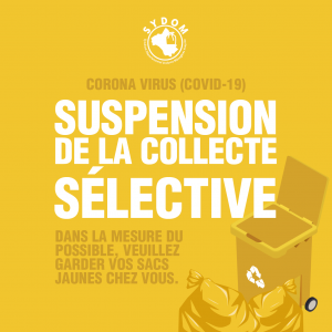 INFORMATION IMPORTANTE / COVID-19