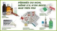 Médicaments à rapporter en pharmacie