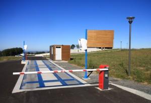 Fonctionnement d'une station de transit à caisson de compaction 1/4