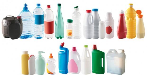 Flaconnages et bouteilles en plastique