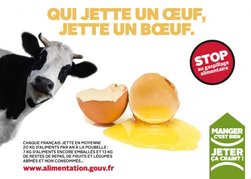 Campagne sur le gaspillage alimentaire